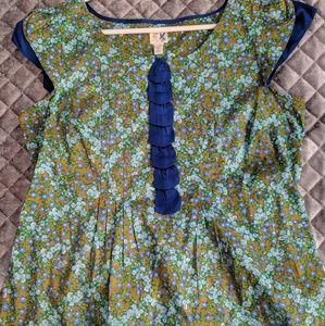 Anthropology blouse by edme & esyllte size 12